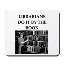 librarian gifts and t-shirts Mousepad