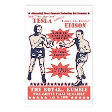 tesla-v-edison-DKT Postcards (Package of 8)