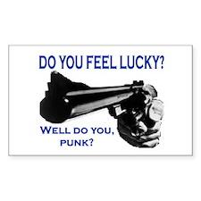 DO YOU FEEL LUCKY? Decal