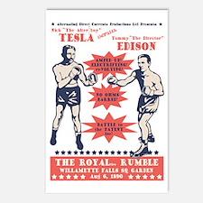 tesla-v-edison-LTT Postcards (Package of 8)