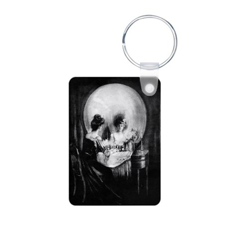 All is Vanity Aluminum Photo Keychain