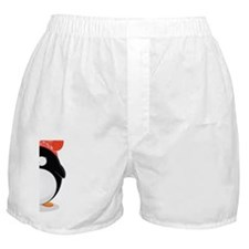 Penguin love Card Boxer Shorts