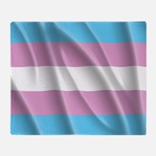 TRANSGENDER FLAG Throw Blanket
