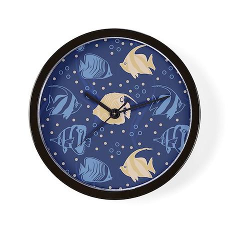 Sea of fish wall clock by admin cp11180963 for Fish wall clock