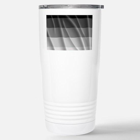 STRAIGHT PRIDE FLAG Stainless Steel Travel Mug