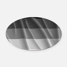 STRAIGHT PRIDE FLAG Oval Car Magnet