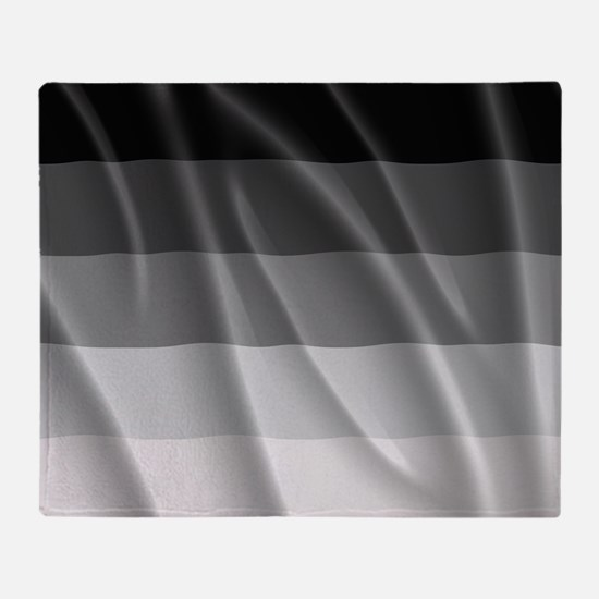 STRAIGHT PRIDE FLAG Throw Blanket