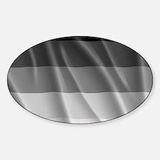 STRAIGHT PRIDE FLAG Sticker (Oval)