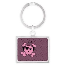 ms_Dinner Placemats_1184_H_F Landscape Keychain
