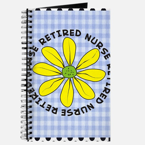 retired nurse gingham Journal