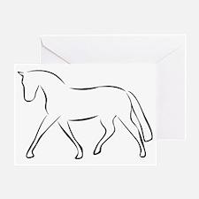 Pferd Greeting Card