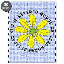 retired nurse gingham Puzzle