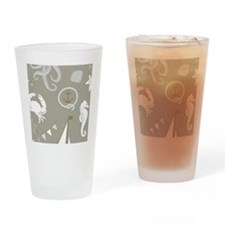 Nautical Sea Drinking Glass