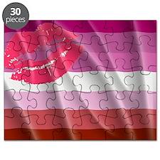 LESBIAN PRIDE FLAG Puzzle