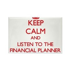 Keep Calm and Listen to the Financial Planner Magn