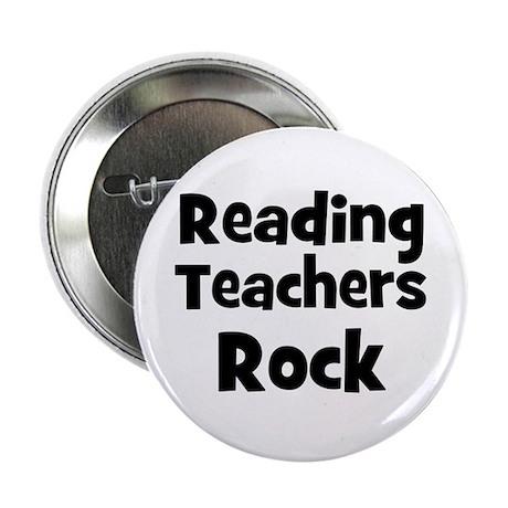 Reading Teachers Rock Button
