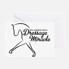 Dressage miracle Greeting Card