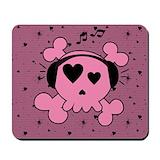 Girl teenager mousepad Classic Mousepad