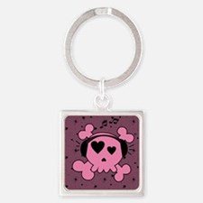 ms_gel_mousepad_647_H_F Square Keychain