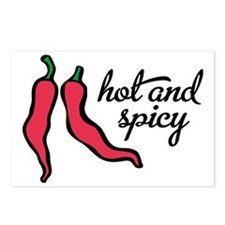 hot and spicy Postcards (Package of 8)