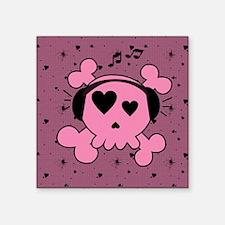 "ms_gel_mousepad_647_H_F Square Sticker 3"" x 3"""