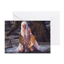 dl_mousepad Greeting Card