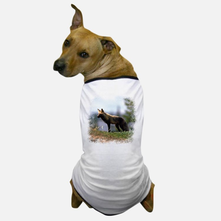 Cross Fox Dog T-Shirt