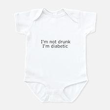 Diabetic Info Infant Bodysuit