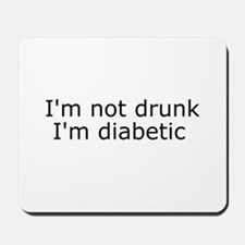 Diabetic Info Mousepad