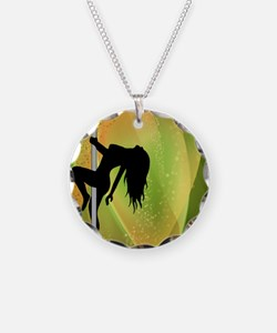 Exotic Dancer - Green Necklace