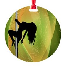 Exotic Dancer - Green Ornament