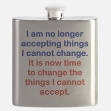I AM NO LONGER ACCEPTING THINGS I CANNOT CHA Flask