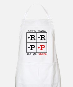 Dont Make Me Go There (light) Apron