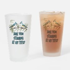 Are You Staring at My Tits Drinking Glass