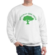 Earth Day : Officially Gone Green Sweatshirt