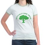 Earth Day : Officially Gone Green Jr. Ringer T-Shi