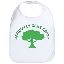 Earth Day : Officially Gone Green Bib
