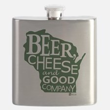 Beer, Chees & Good Company in Green Flask