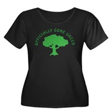 Earth Day : Officially Gone Green T