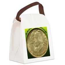 Arkansas Centennial Half Dollar C Canvas Lunch Bag