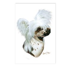 Chinese Crested Postcards (Package of 8)