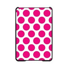 Hot Pink Polkadot iPad Mini Case