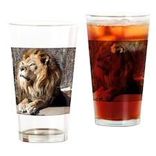 lion Drinking Glass