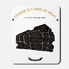 Cheese chart Mousepad