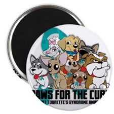 Tourettes Syndrome Puppy Group Magnet