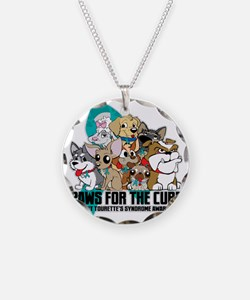 Tourettes Syndrome Puppy Gro Necklace