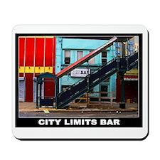 CITY LIMITS BAR Mousepad