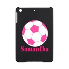 Pink Soccer Ball iPad Mini Case