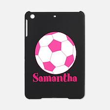Pink Soccer Ball iPad Mini Case