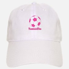 Pink Soccer Ball Baseball Baseball Baseball Cap